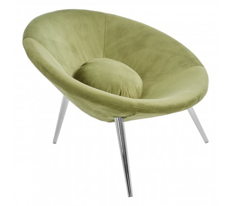 The Home Furnishings Company Arto Sage Velvet Chair