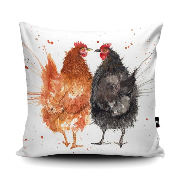 The Home Furnishings Company  Splatter Hens Floor Cushion Giant Size: 3 Feet x 3 Feet - plus  Scatter Cushions