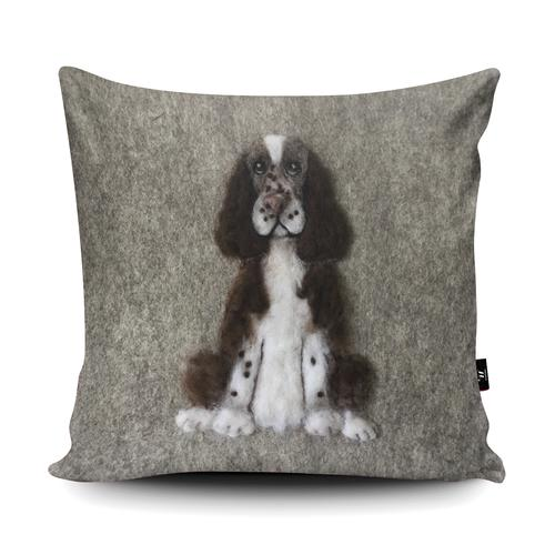 The Home Furnishings Company Springer Spaniel Giant Floor Cushion: 3 feet x 3 feet- plus scatter cushions