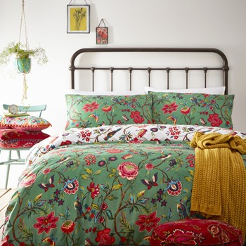 The Home Furnishings Company Verdi Pomelo Duvet Cover and Matching Pillow Cases