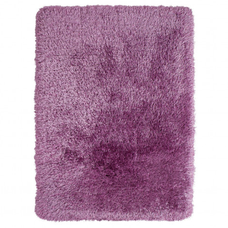The Home Furnishings Company Lilac Extra Long Shaggy Rug