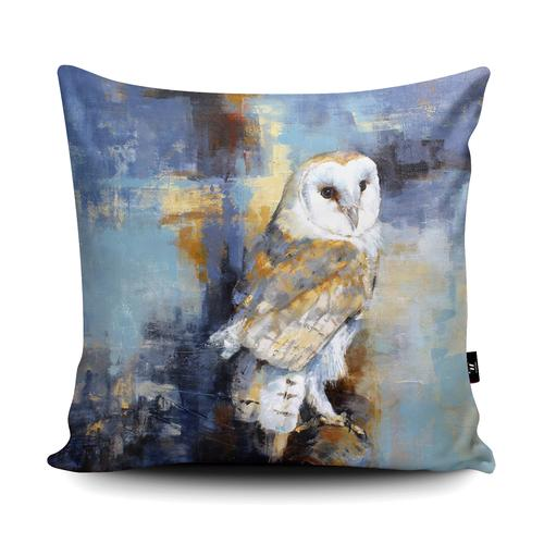 The Home Furnishings Company City Barn Owl Floor Cushion Giant Size: 3 feet x 3 feet - Plus scatter cushions