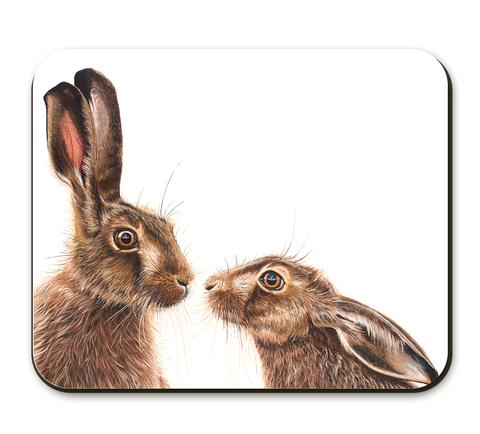 The Home Furnishings Company  Kissing Hares Placemats - set of 3