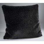 The Home Furnishings Company Russian Blue Grey Luxury Faux Fur Throw 140x240 cms