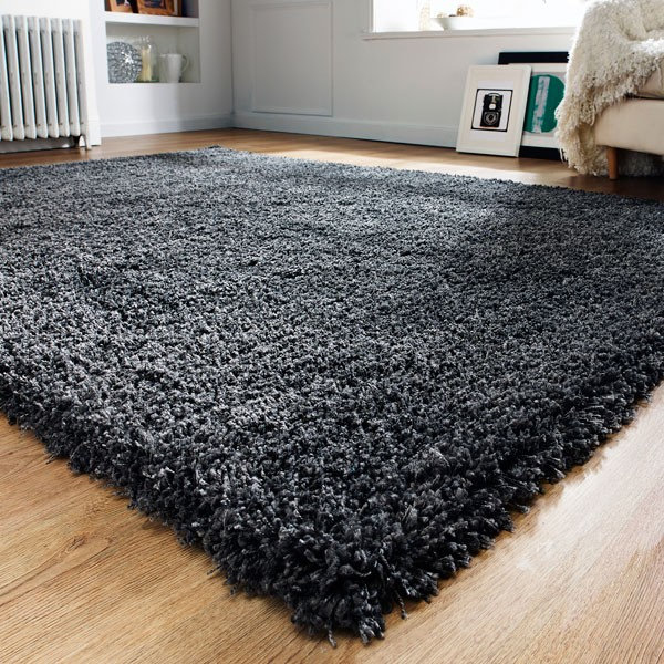 The Home Furnishings Company Athena Charcoal Rug 160x230cms