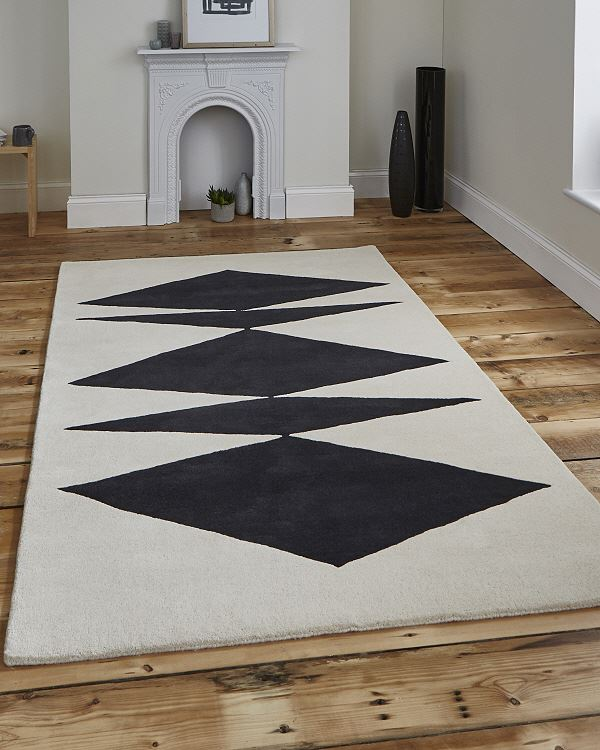 The Home Furnishings Company Abstract Crystal Palace Designer Rug