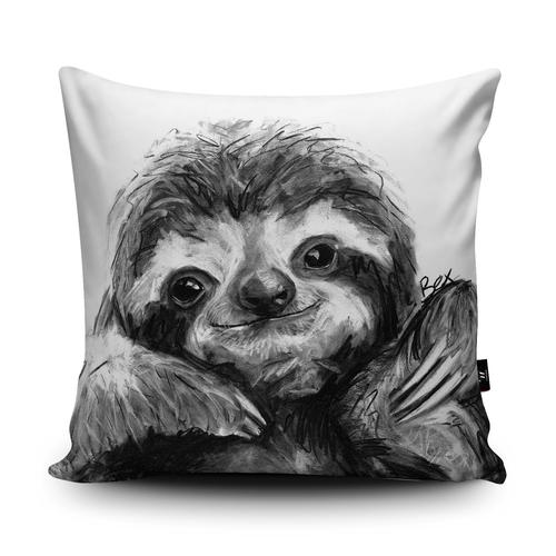 The Home Furnishings Company Sloth Giant Floor Cushion Size 3 feet x 3 feet - Plus Scatter Cushions