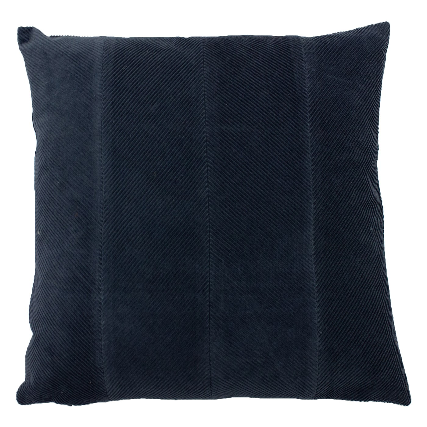The Home Furnishings Company Jagger Navy Corduroy Cushion 45x45cms