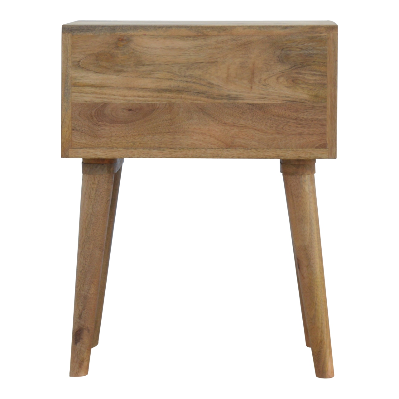 The Home Furnishings Company Nordic Style Blue 2 Drawer Bedside Table