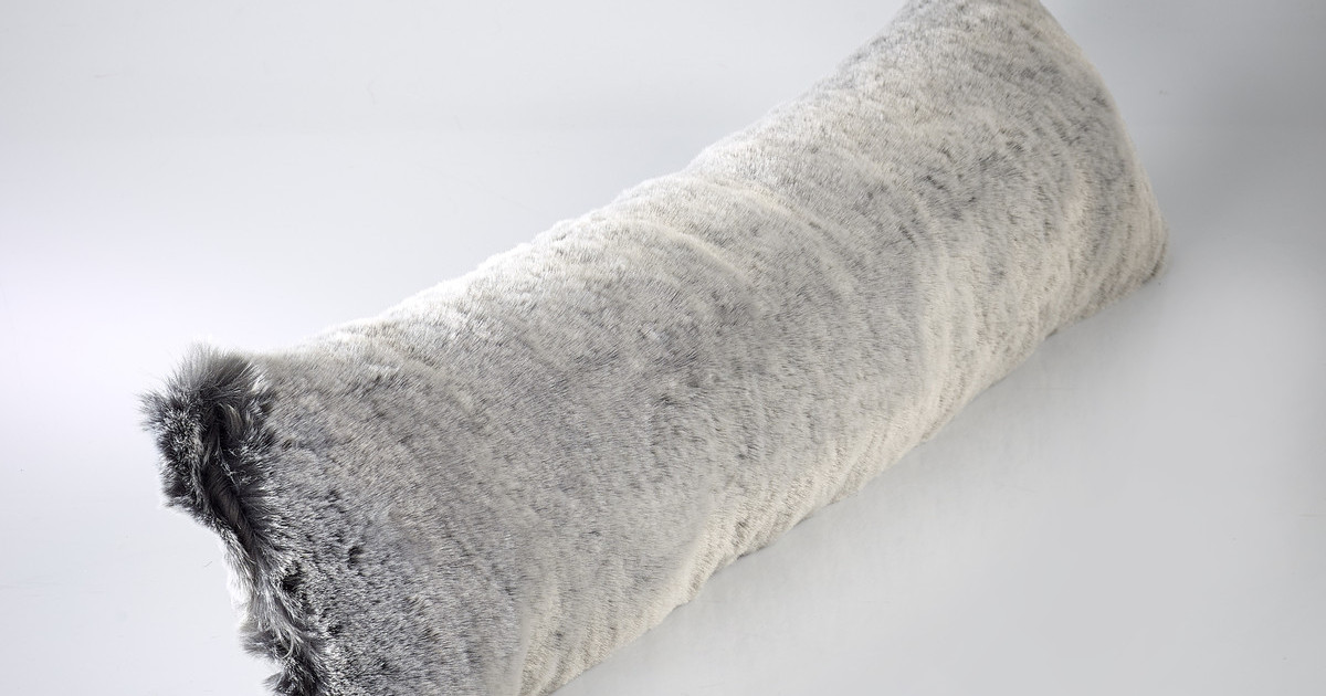 The Home Furnishings Company Alaska Fox Luxury Faux Fur Draught Excluder 100x22cms