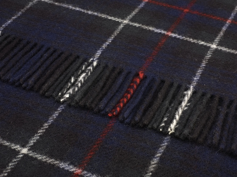 The Home Furnishings Company Pure Wool Mackenzie Tartan Throw 140x180 cms