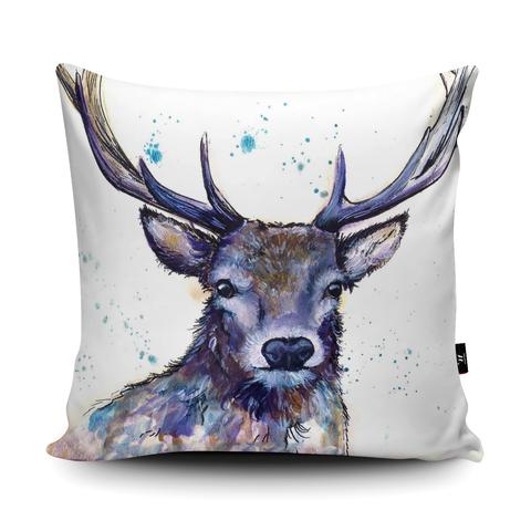 The Home Furnishings Company  Splatter Hart Deer Giant Floor Cushion Giant Size: 3 feet x 3 feet - plus scatter cushions