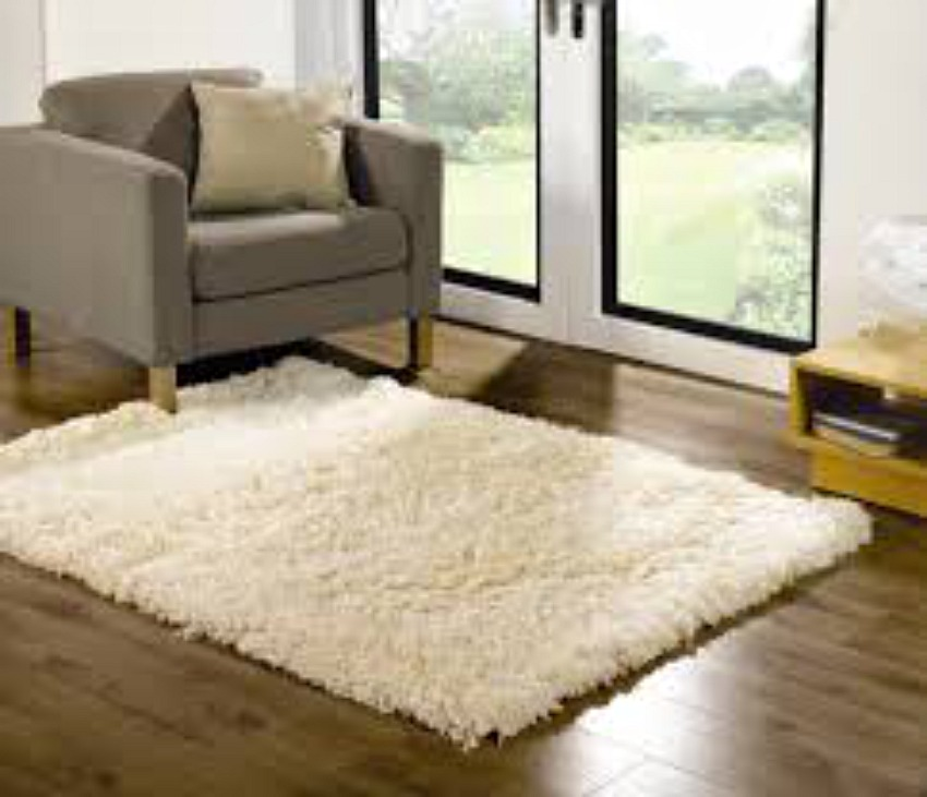 The Home Furnishings Company Sumptuous Cream Shaggy Rug 80x150cms  £59.00