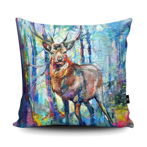 The Home Furnishings Company Mystic Stag Giant Floor Cushion and Scatter Cushions