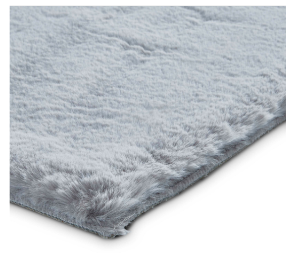 The Home Furnishings Company Teddy Silver Rug