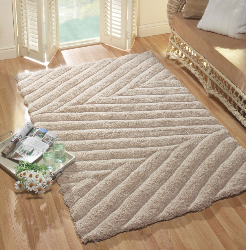The Home Furnishings Company Coast Peninsula Natural Rug 80x150cms  £49.00