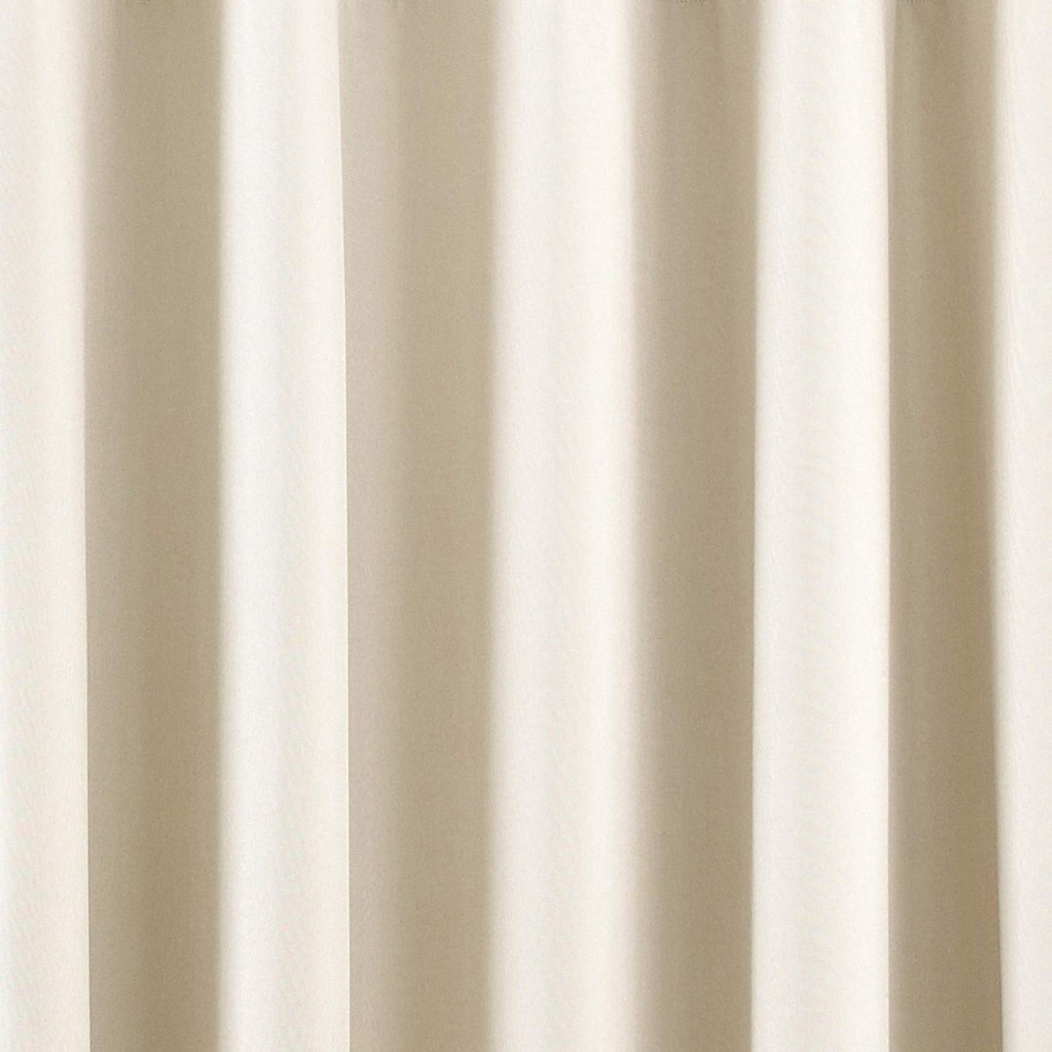 The Home Furnishings Company Ivory Eyelet Blackout Curtains, Blind and Cushion