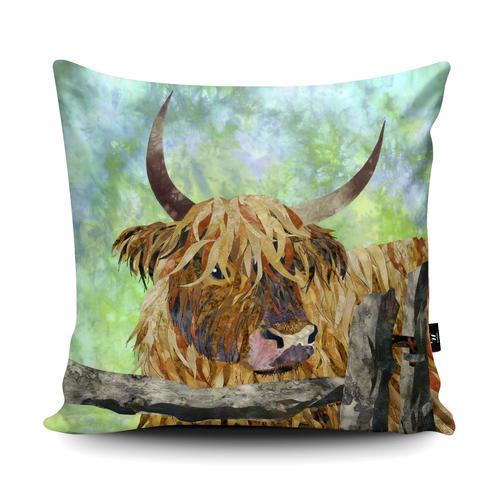 The Home Furnishings Company Cow and Gate Cushion/Cushions