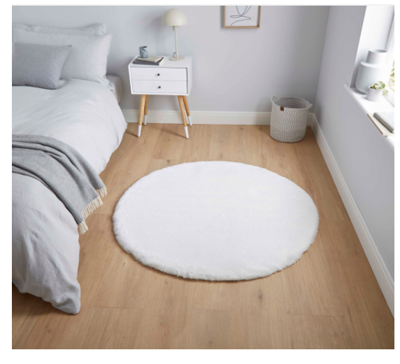 The Home Furnishings Company Teddy Ivory Rug