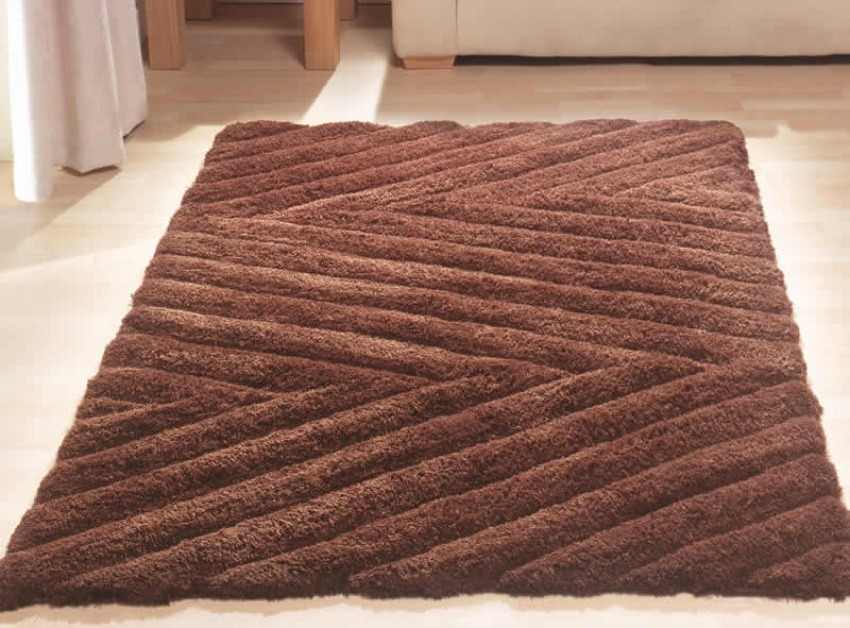 The Home Furnishings Company Coast Peninsula Brown Rug 80x150cms  £49.00
